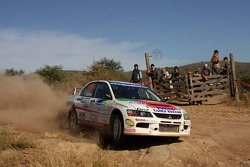 Stefano Marrini and Roberto Mometti, Mitsubishi Lancer Evo IX Errani Team