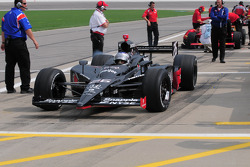 Marco Andretti, Andretti Green Racing leaves the pits