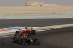 Mark Webber, Red Bull Racing and Felipe Massa, Scuderia Ferrari