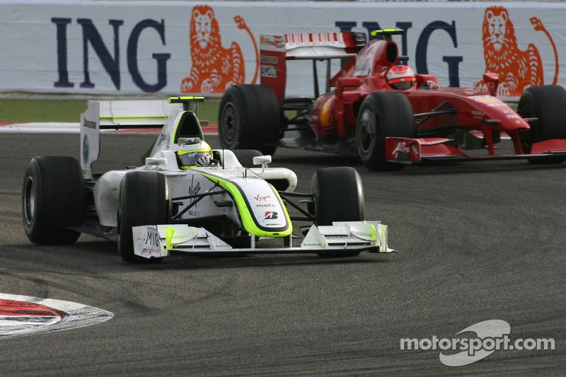 Rubens Barrichello, Brawn GP, Kimi Raikkonen, Scuderia Ferrari