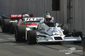 #27 Tony Smith (GB) Williams FW06-4, GF Racing  (Formely driven by Alan Jones, 1978)