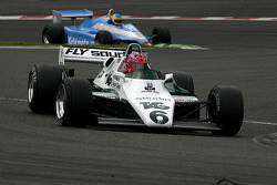 #6 Richard Eyre (GB) Williams FW08-3, RJM Motorsport (1982); ; #32 Terry Sayles (GB) Osella FA1-D, JRT Belgium (1982)