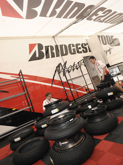 Bridgestone team members at work