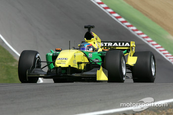 John Martin, driver of A1 Team Australia