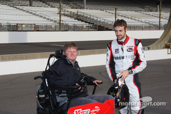 Sam Schmidt and James Hinchcliffe
