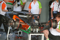 Force India F1 Team tunred around