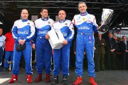 Winner #3 class 3 Drakkar Inshore: Franck Revert, Philippe Dessertenne, Duarte Benavente, Pierre Lundin