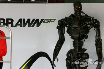 Terminator in the pit of Brawn GP