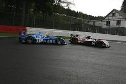 #24 Oak Racing Pescarolo - Mazda: Jacques Nicolet, Richard Hein; #31 Team Essex Porsche RS Spyder: Casper Elgaard, Kristian Poulsen, Emmanuel Collard