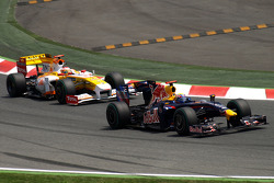 Sebastian Vettel, Red Bull Racing, Fernando Alonso, Renault F1 Team
