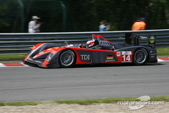 #14 Kolles Audi R10 TDI: Andrew Meyrick, Narain Karthikeyan, Charles Zwolsman