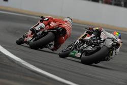Nicky Hayden, Ducati Marlboro Team, Alex De Angelis, San Carlo Honda Gresini