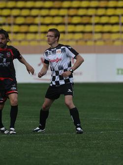 Star Team vs Nazionale Piloti, Charity Football Match, Monaco, Stade Louis II: Sébastien Bourdais, Scuderia Toro Rosso