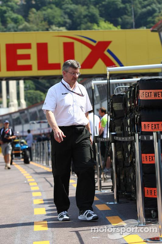 Ross Brawn Brawn Grand Prix Team Principal