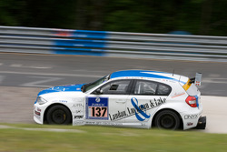 #137 GRC Racing BMW 120d: Jacob Thomsen, Harald Nordeng, Dirk Hemmersbach, David Carballeda