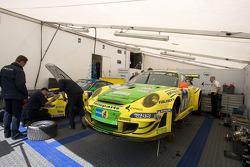 Manthey Racing GmbH paddock area