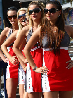 Girls in Monaco