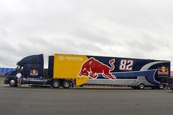 Scott Speed's hauler