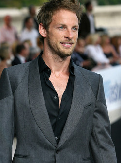 Jenson Button, Brawn GP at the Fashion show