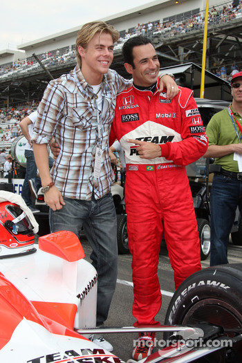 Derek Hough and Helio Castroneves