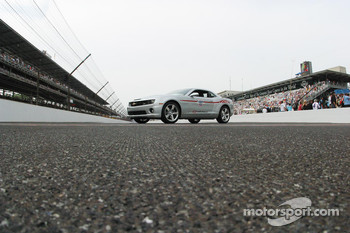 The Chevrolet Camaro is ready for the photo-op