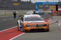 Race winner Gary Paffett, Team HWA AMG Mercedes AMG Mercedes C-Klasse