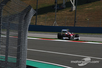 Timo Glock, Toyota F1 Team goes out of the track