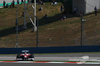 Timo Glock, Toyota F1 Team goes of the track