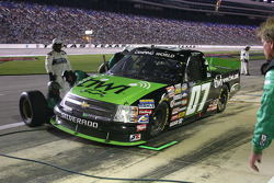 Pit stop for the #07 Tiwi.com, ASI Limited Chevrolet of Chad McCumbee