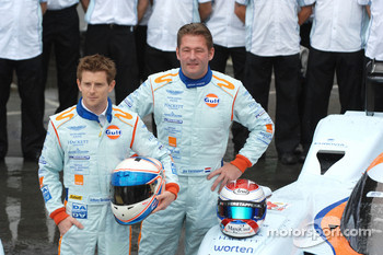 Anthony Davidson and Jos Verstappen