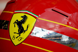 Ferrari helmet detail