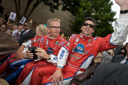 Joe Foster and Patrick Dempsey
