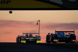 #39 KSM Lola Mazda Spider: Hideki Noda, Matthew Marsh, Jean de Pourtales, #8 Team Peugeot Total Peugeot 908: Stéphane Sarrazin, Franck Montagny, Sébastien Bourdais