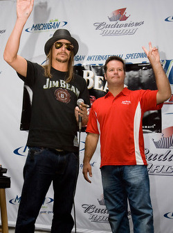 Kid Rock and Robby Gordon
