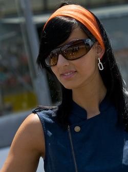 A charming Aston Martin girl