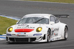 #97 Brixia Racing Porsche 997 GT3 RSR: Luigi Lucchini, Martin Ragginger