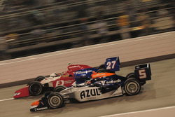 Hideki Mutoh, Andretti Green Racing runs with Mario Moraes, KV Racing Technology