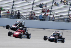 Levi Jones is flanked by Josh Wise and Cameron Dodson