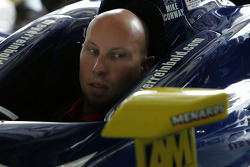 Dreyer & Reinbold Racing crew member