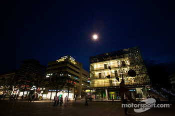 Stuttgart by night: Kunstmuseum Stuttgart