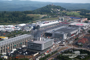 Aerial view of the Nurburgring