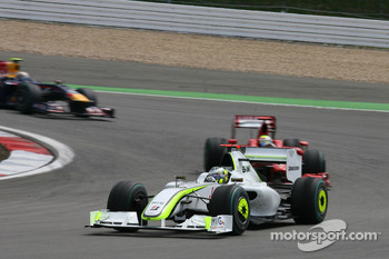 Jenson Button, Brawn GP, Felipe Massa, Scuderia Ferrari