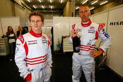 Anthony Davidson and Michael Krumm