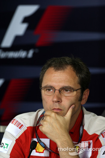 FIA press conference: Stefano Domenicali, Scuderia Ferrari, Sporting Director