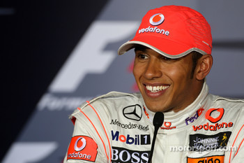 Post-race press conference: race winner Lewis Hamilton, McLaren Mercedes