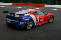 #56 CRS Racing Ferrari F430: Andrew Kirkaldy, Rob Bell, Peter Kox, Antonio Garcia
