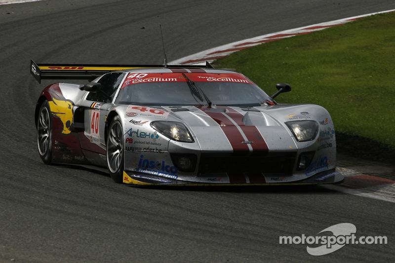 #40 Marc VDS Racing Team Ford GT: Eric de Doncker, Bas Leinders, Renaud Kuppens