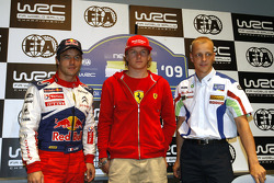 Press conference: Sébastien Loeb, Kimi Raikkonen and Mikko Hirvonen