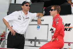 Ryan Briscoe, Team Penske and Tim Cindric