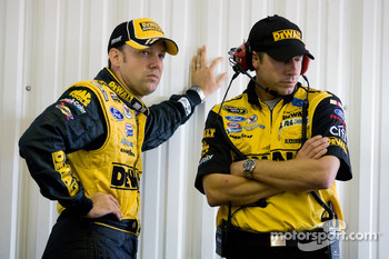 Matt Kenseth, Roush Fenway Racing Ford and crew chief, Drew Blickensderfer